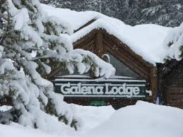 Galena lodge lots of snow